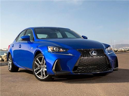 Новость про Lexus IS - Lexus IS 2017