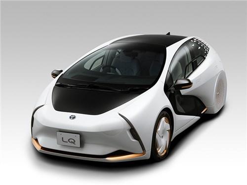 Новость про Toyota - Toyota LQ Concept 2019
