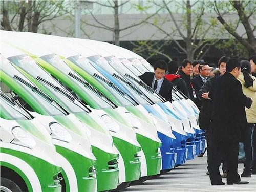 В Китае умерли продажи электромобилей