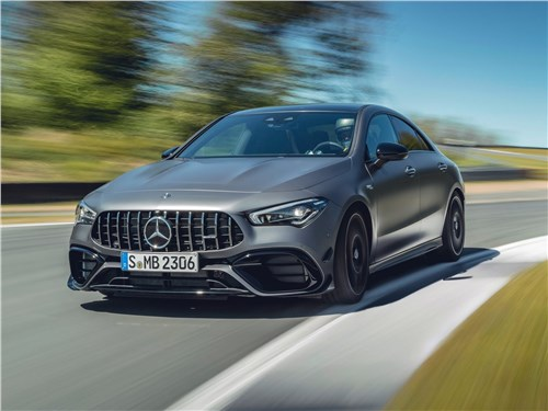 Mercedes-Benz CLA AMG 2020 вид спереди