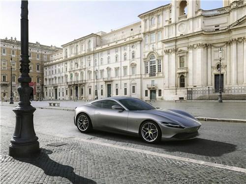 Ferrari Roma 2020 вид спереди