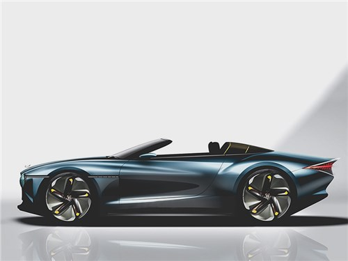 Bentley выпустит очень роскошный кабриолет