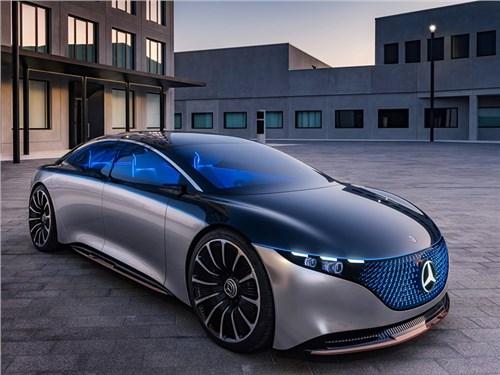 Новость про Mercedes-Benz - Mercedes-Benz Vision EQS Concept 2019