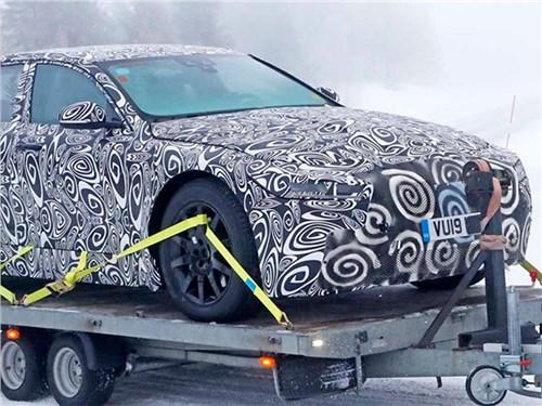 Jaguar приступил к тестам нового XJ