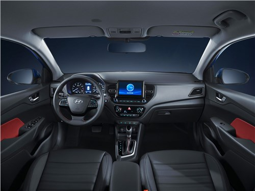 Hyundai Solaris 2020 салон