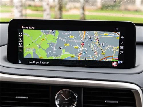 Lexus RX 2020 монитор