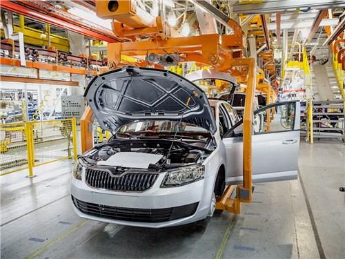 Volkswagen останавливает производство в России