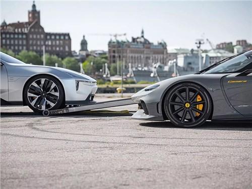 Koenigsegg и Polestar намекнули на совместный проект