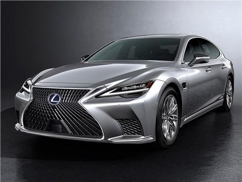 Новость про Lexus LS - Lexus LS 2020