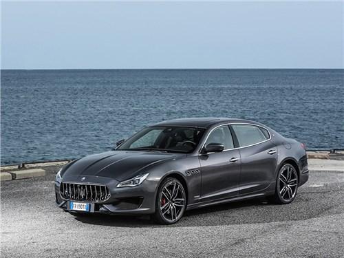 Maserati выпустит «заряженные» седаны Ghibli и Quattroporte