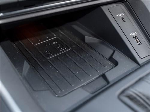Audi Q3 2019 беспроводная зарядка