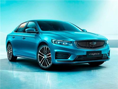 Geely представила первый серийный седан на базе Volvo