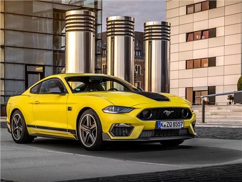 Новость про Ford Mustang - Ford Mustang Mach 1 [EU] (2021)