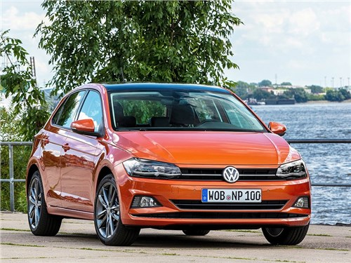 Новость про Volkswagen Polo - Volkswagen вывел на тесты новый Polo