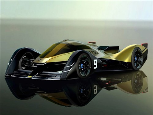 Lotus представил автомобиль с закрылками