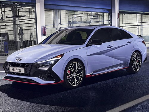 Hyundai Elantra N-Line представлена официально