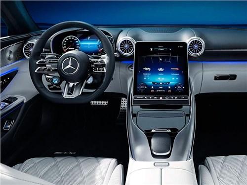 Новость про Mercedes-Benz - Mercedes-Benz AMG SL рассекречен