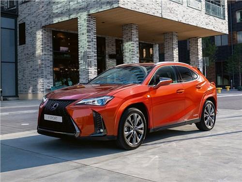 Новость про Lexus UX - Lexus UX FSport