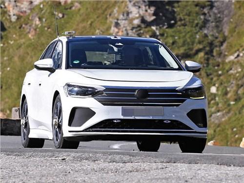 Volkswagen вывел на тесты электрический аналог Passat