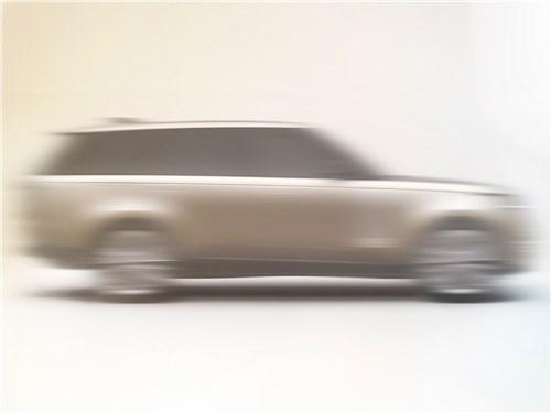 Land Rover Range Rover (2021) вид сбоку