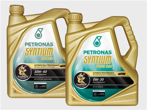 PETRONAS Syntium 7000 DM 0W-30 и PETRONAS Syntium RACER 10W-60