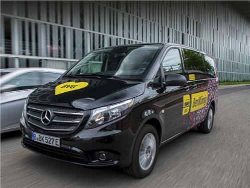 Новость про Mercedes-Benz - Mercedes выпустил новый электрический минивэн