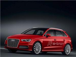 Audi в этом году начнет продавать в России гибридный хэтчбек A3 e-tron