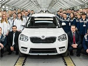 В России началось производство обновленного Skoda Yeti