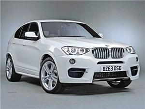 Новый кроссовер BMW X4 дебютирует через 3 дня