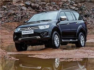В России стартовали продажи обновленного внедорожника Mitsubishi Pajero Sport