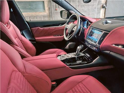 Novitec | Maserati Levante салон