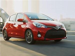 Toyota представила обновленный хэтчбек Yaris для рынка США