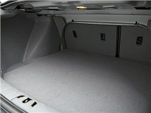 Volvo S40 2011 багажное отделение