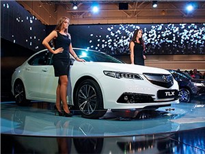 Бизнес-седан Acura TLX дебютировал на Московском автосалоне