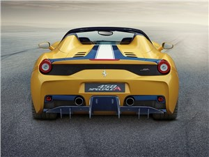 Предпросмотр ferrari 458 speciale a 2014 вид сзади