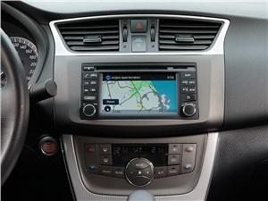 Nissan Sentra 2013 центральная консоль