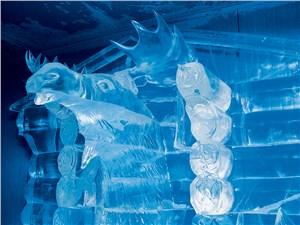 Великий устюг. Ледяные скульптуры