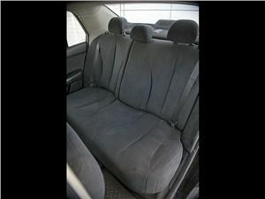 Nissan Tiida 2010 задний диван