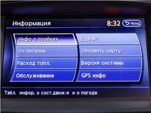 Предпросмотр infiniti qx60 hybrid 2015 монитор