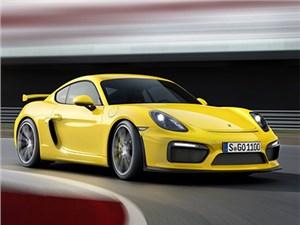 Обновленный Porsche Cayman GT4 представлен официально