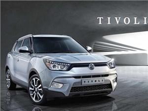 Компания SsangYong привезет в Женеву новый кроссовер Tivoli