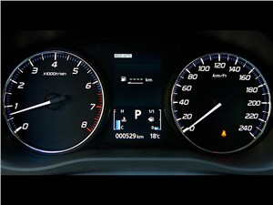 Mitsubishi Outlander 2014 приборная панель