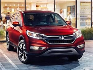 Обновленный кроссовер Honda CR-V приедет в нашу страну уже этим летом