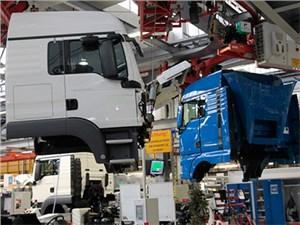 Производство грузовиков MAN в Петербурге будет простаивать до середины мая