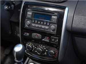 Nissan Terrano 2014 центральная консоль