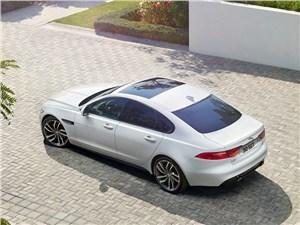 Предпросмотр jaguar xf 2016 вид сверху
