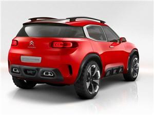 Предпросмотр citroen aircross concept 2015 вид сзади