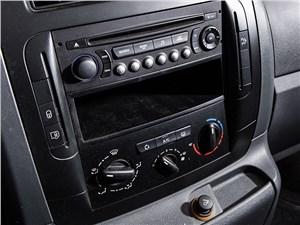 Fiat Scudo Cargo 2014 центральная консоль