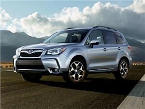В США представили обновленный кроссовер Subaru Forester