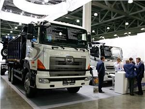 Hino представила модификации грузовиков серий 300, 500 и 700